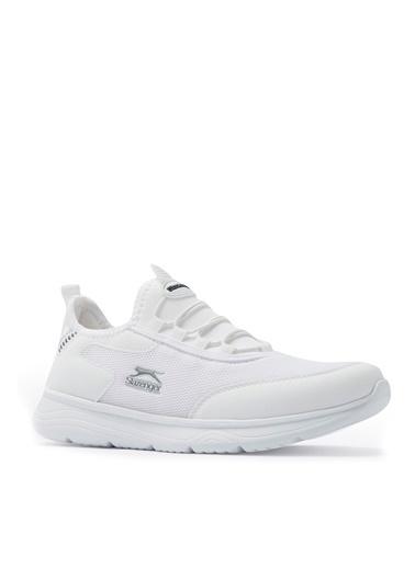 Slazenger Slazenger GENOA Sneaker Erkek Ayakkabı Haki Beyaz